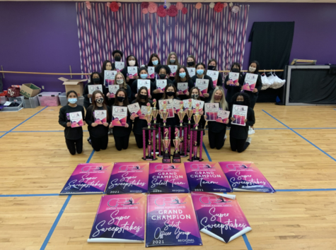 Royals participated in the Frisco Showcase at the Delta Hotel Febuary 27-28th the Sergents won 2nd place contest overall on day 1. Day 2 the Royals Sergeants won 1st place. Junior Lizzie Hanley and Senior Melanine Rodriguez won 1st place for their Duet.