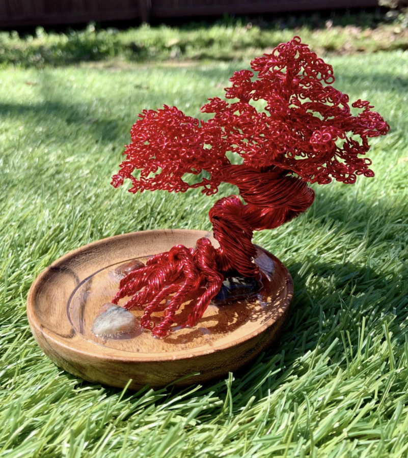 How to build a wire bonsai tree