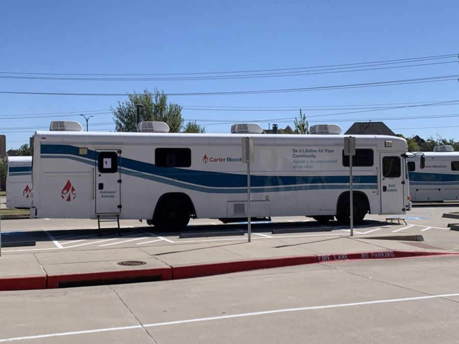 Carter Blood Care mobile blood drive